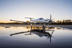 Nicholas-Air-Pilatus-Wet-Runway