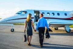 phenom-300-couple-boarding-1-scaled