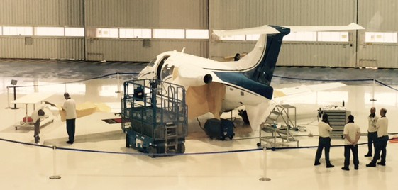 Nicholas Air Phenom 100 Built on Factory Floor