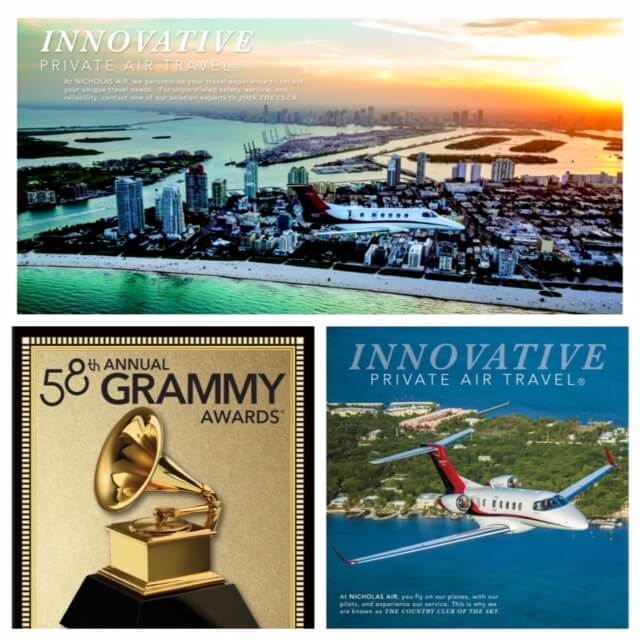 Nicholas-Air-Grammys-Program
