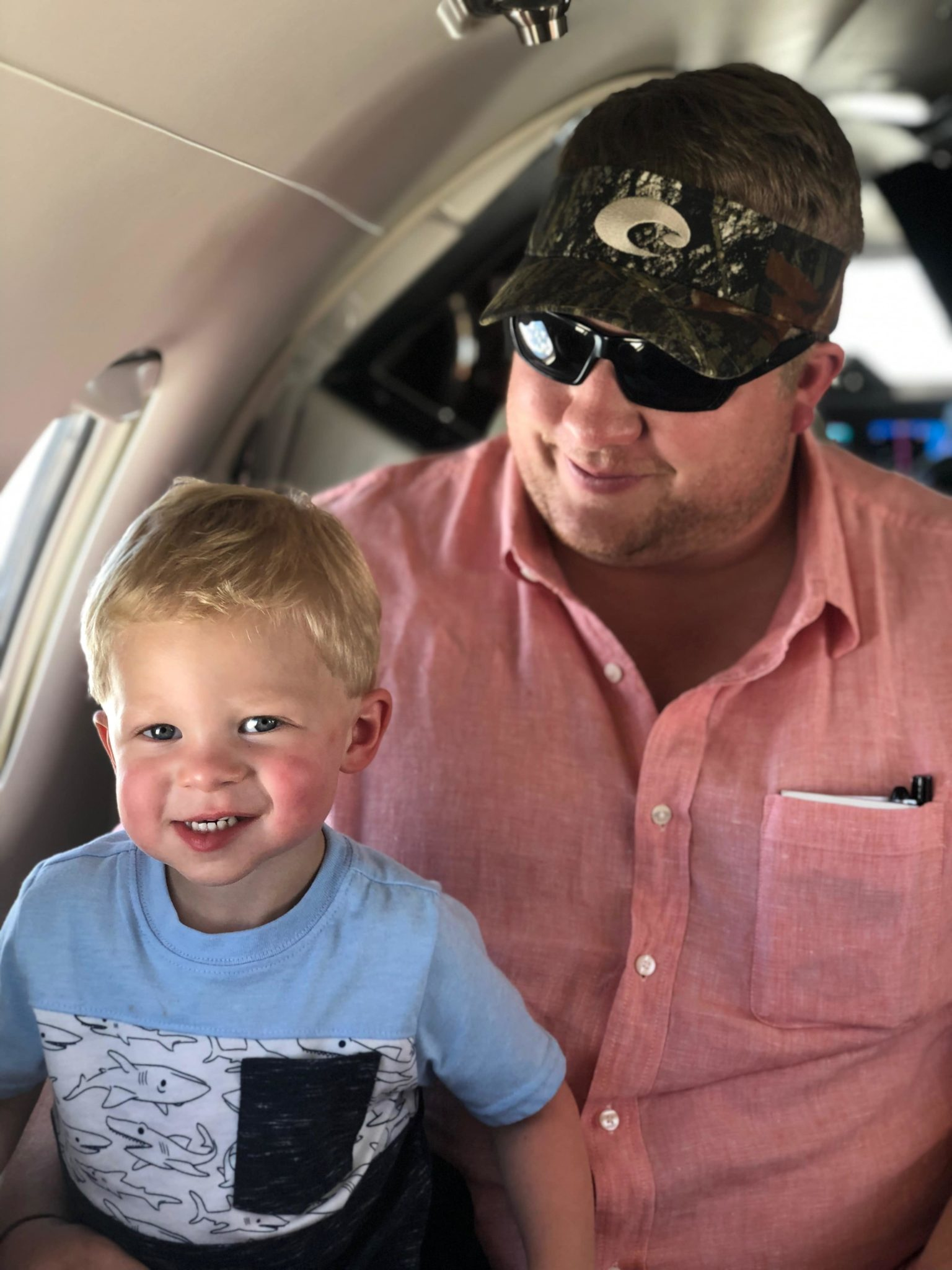 Father and Son Nicholas Air Members Onboard Pilatus PC-12