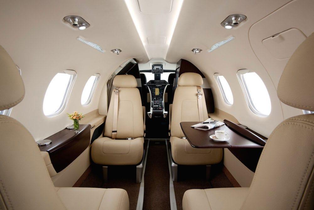 Embraer Phenom 100 Interior