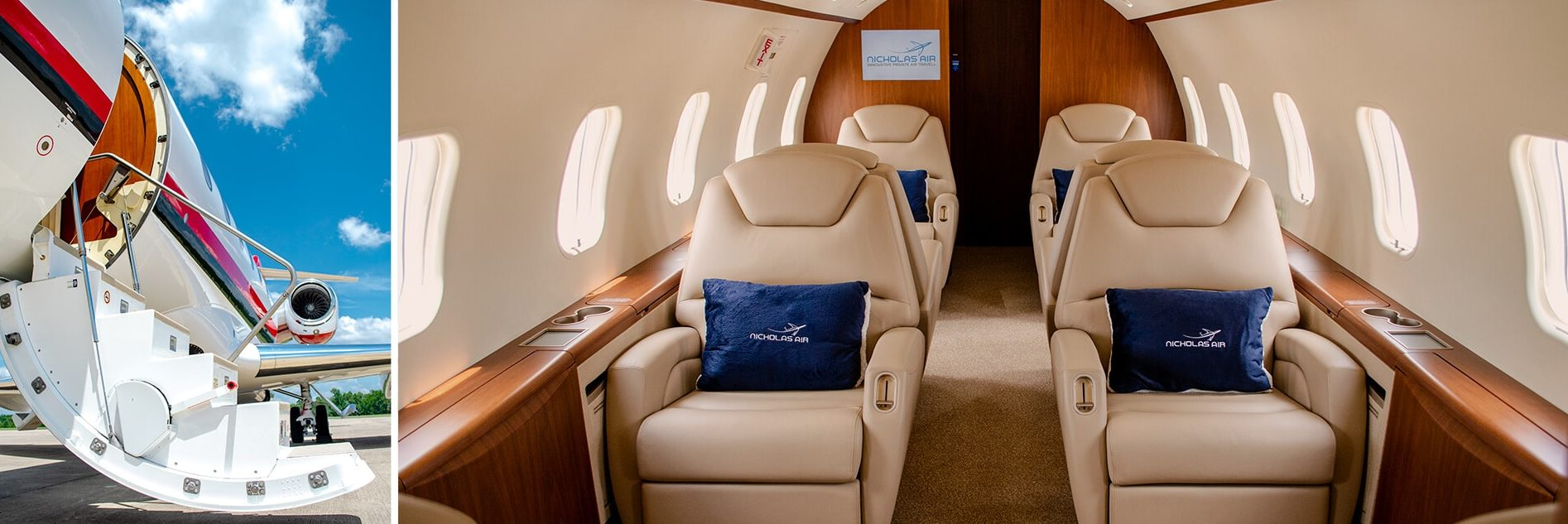Challenger 300 Interior and Steps