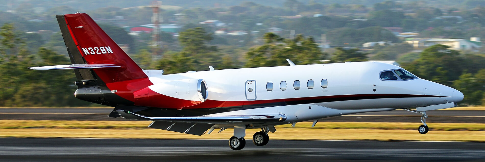 Cessna Citation Latitude Takeoff
