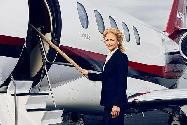 Nicole Kidman Citation Latitude Boarding