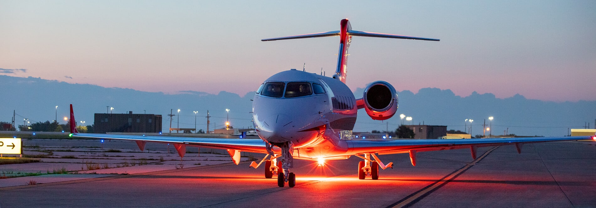 Citation Latitude Tarmac Lights