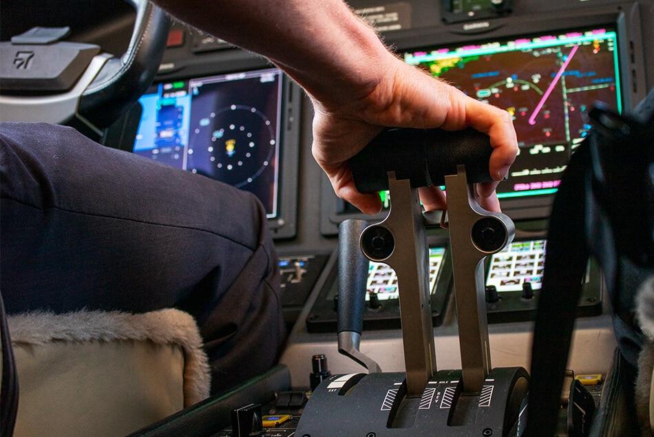 Cessna Citation Latitude Cockpit Throttle