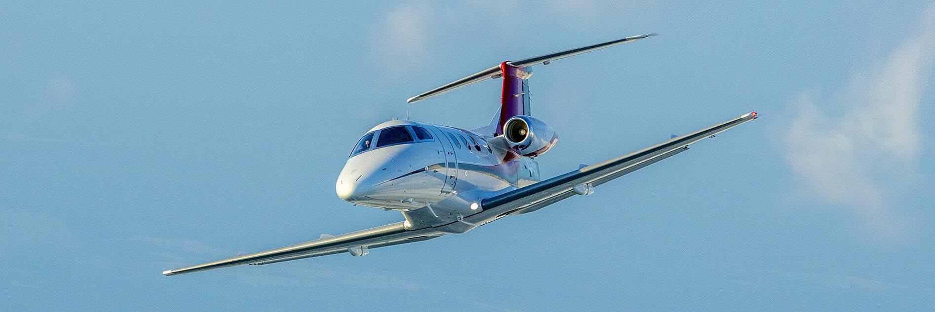 Embraer Phenom 100 Aerial Photo
