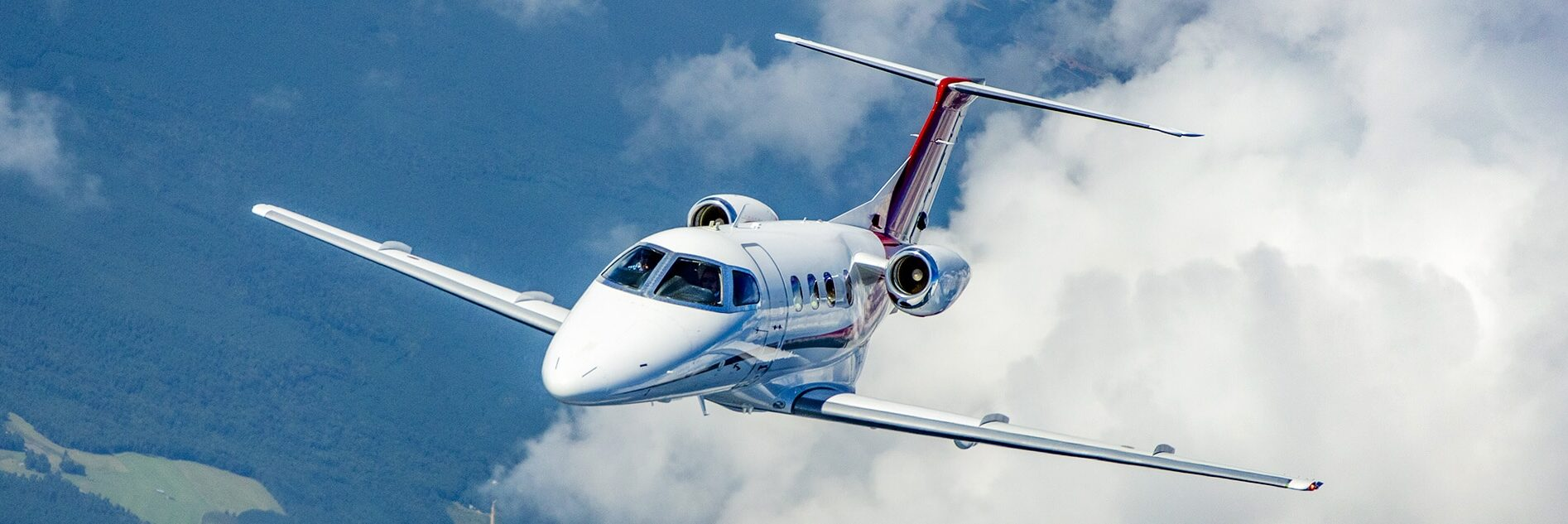 Embraer Phenom 100 Aerial