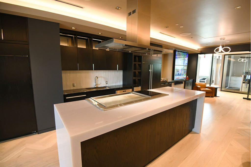 Nicholas Air Headquarters Kitchen