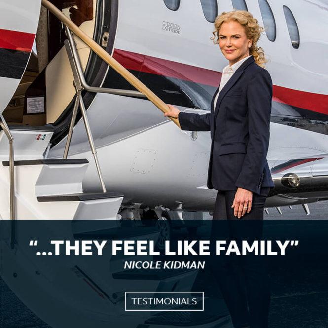 Nicole Kidman Boarding Cessna Citation Latitude | They Feel Like Family