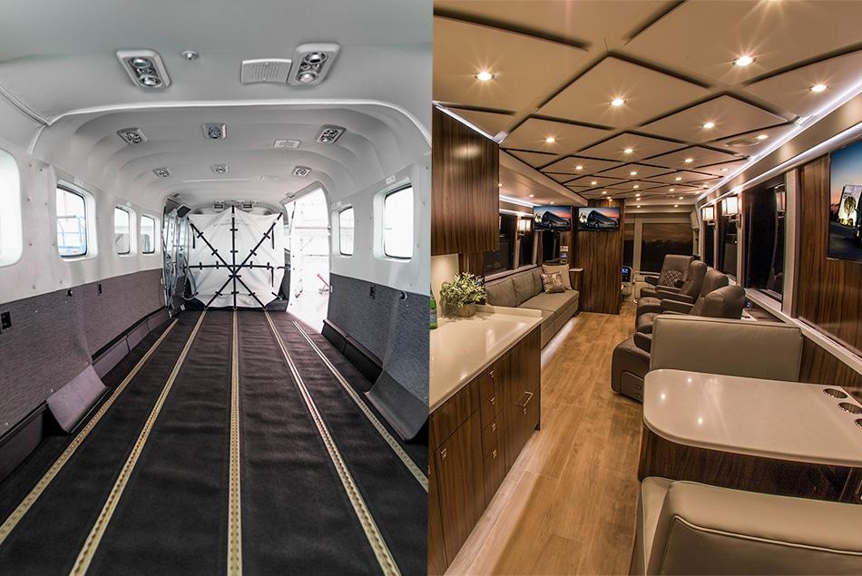 Cessna Caravan and Provost Executive Coach